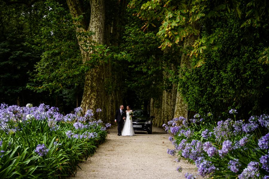 fotos de boda en la casona de las fraguas cantabria los novios