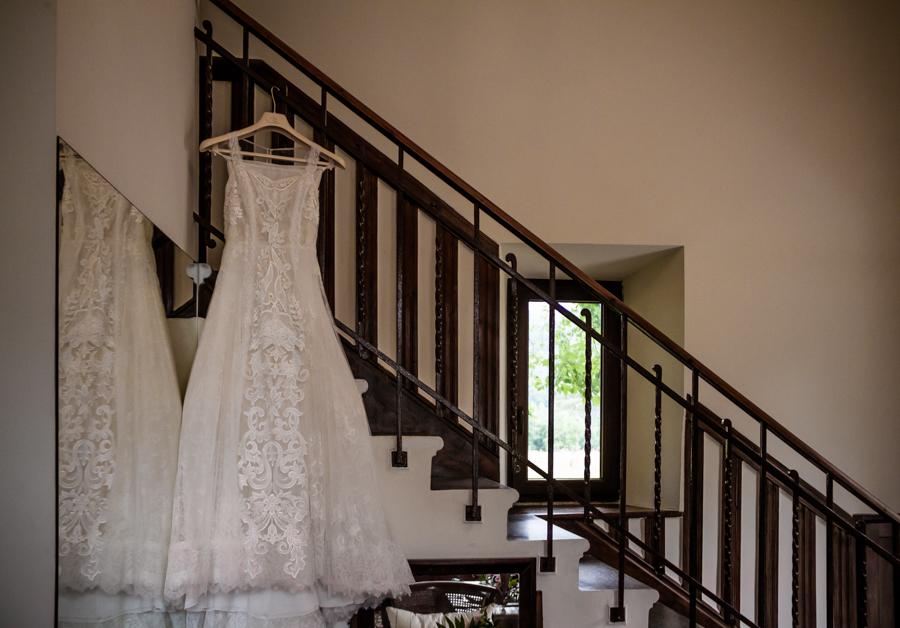 fotos de boda en la casona de las fraguas cantabria el vestido de novia