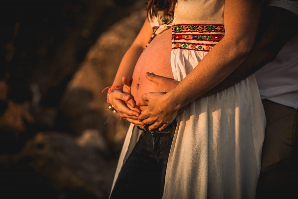 fotografía del embarazo