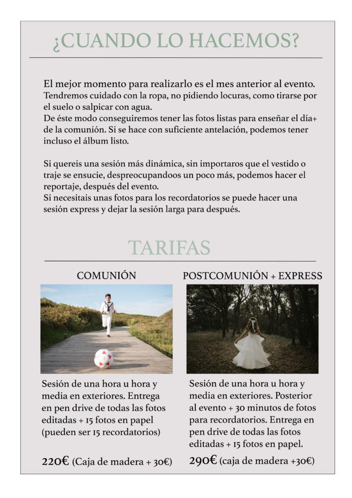 fotos de comunion cantabria