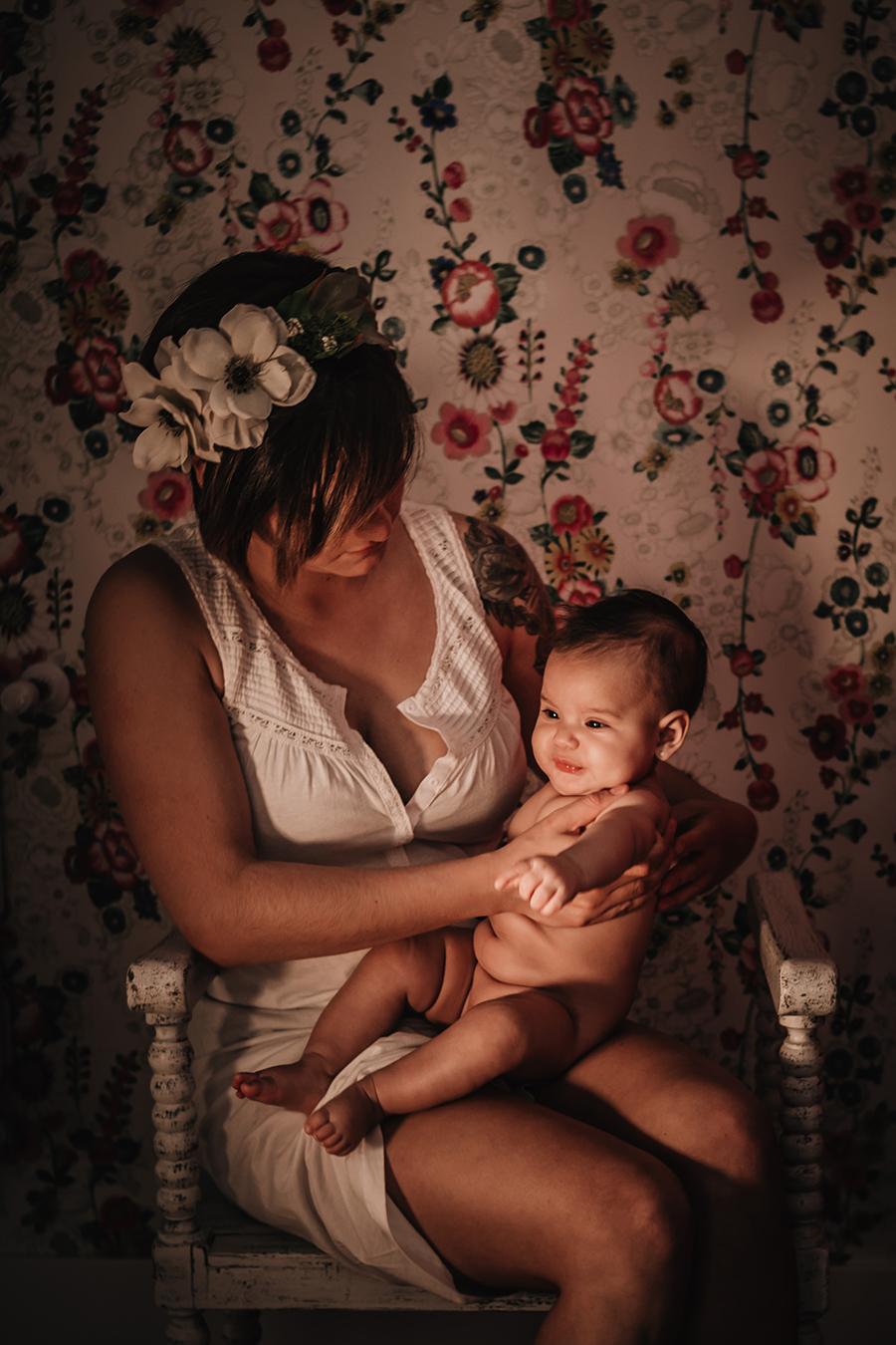 reportaje de bebé